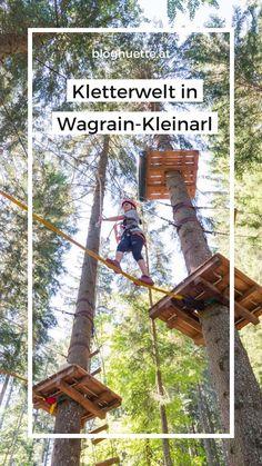In der Kletter-Welt in Wagrain-Kleinarl kann man wirklich was erleben. Action pur würde ich mal sagen. Schwindelfrei sollte man unbedingt sein. Dort findet man ein Angebot für einen Ausflug allein oder für die ganze Familie. Mehr dazu am Blog #bloghuette Activities, Blog, Climbing, Alone, Pictures, Blogging