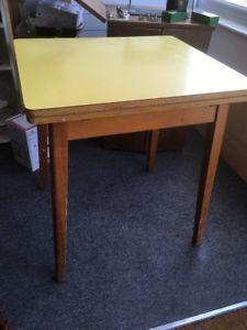 68 104 X 60cm Ebay Retro Yellow Formica