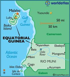 97 Best Equatorial Guinea images | African countries, Guinea africa ...