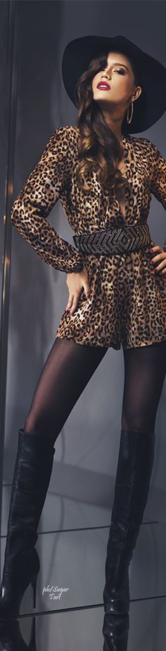 animalprint.quenalbertini: Black with leopard