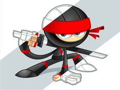 Ninja Cartoon Character #ninja