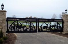 Refined Design Metals - Entrance Gates & Signs