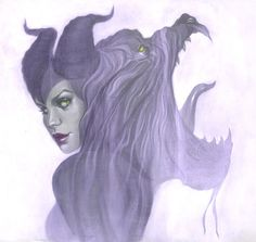 Maleficent by Jenny Frison by ~AshcanAllstars on deviantART