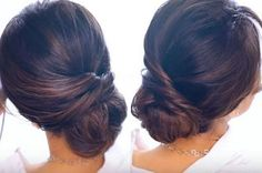 DIY Makeup Tutorials : Elegant Bun Hair Tutorial In 2 Minutes! | Quick and Easy DIY Hair Tutorial with