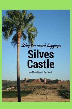 Silves Castle and Silves Medieval Festival Medieval Fair, Places In Portugal, Back In Time, Backdrops, Castle, Beach, Water, Wanderlust, Travel