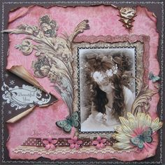 Such a Pretty Mess: A Gorgeous Websters Pages collection! & How To Make Your Own Pearl Flourishes!