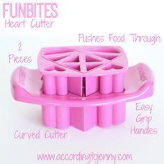 FunBites Pink Hearts