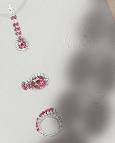 Beautiful design by @cartier #jewelry #jewellery #jewelryrendering…