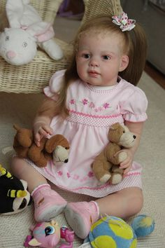 Мои летние девочки. Куклы реборн Татьяны Лазаренко / Куклы Реборн Беби - фото…