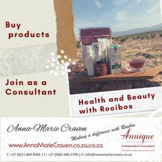 Making a difference with Rooibos Something To Do, Health And Beauty, Herbs, Products, Herb, Gadget, Medicinal Plants