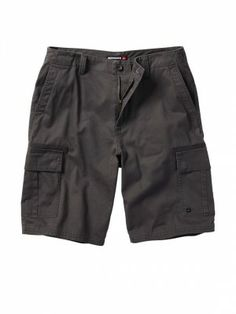 "Bermuda Quiksilver Men's 104313 Ignition 22"" Shorts Gunmetal #Quiksilver #Bermuda"