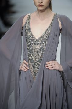 this dress should be in a medieval fantasy film :: Haute Couture Fall 09 [Cengiz Abazoglu]