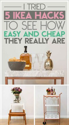 I Tried 5 Ikea Hacks To See How Cheap And Easy They Really Are - also worth reading for the genius commentary.