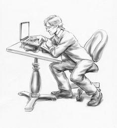 Deadline  Storyboard Artist and Illustrator: Ron Wennekes