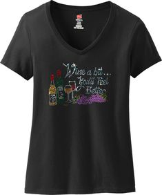 Bling Bling Rhinestone T-Shirt,Merry Christmas w// Reindeer Ripped Cut Out S~3XL