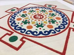 Yes - this mandala was filled with sand. It is part of Sand Mandala Art (SMArt) Meditation - where art and meditation combine. Get your set on our Etsy store to get started! Mindfulness Meditation, Mandala Art, Montreal, Etsy Store, Outdoor Blanket, Workshop, Etsy Seller, Kids Rugs, Creative