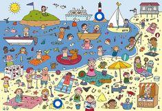 Naar het strand by Anne Van Der Pol (praatplaat zomer)