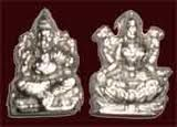 Wonderfully crafted nice and pure #silverstatue of hindu god #Ganesha and goddess #Lakshmi. An amazing #diwali gift to close friends or to someone special.
