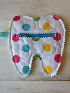 tooth fairy door ideas | Quilted Tooth Fairy Zipper Pouch coin purse treats by CurbysCloset, $5 ...