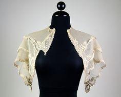Pelerine  Date: ca. 1835 Culture: American Medium: Cotton Accession Number: 2009.300.5649