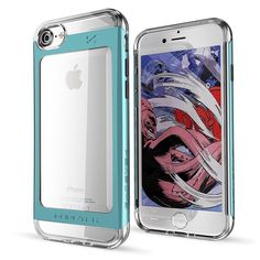 iPhone 7 Case, Ghostek Cloak 2 Series for Apple iPhone 7 Slim Protective Armor Case Cover (Teal)