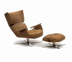Paulistana Lounge Chair with Ottoman by Espasso | Architonic