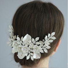 Bridal Comb, Bridal Hair, Wedding Hair, Bride Tiara, Bride Hair Accessories, Wedding Belts, Floral Headpiece, Prom, Hair Jewelry