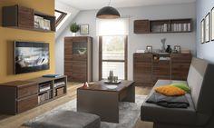 Author - pokój dzienny Black Red White #nowoczesne #new #meble #furniture #ideas #inspiration #pomysł #livingroom #salon #modern #interior