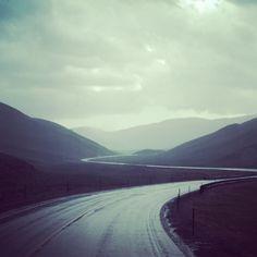 Winding Road, WY