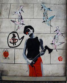 Fontenay-sous-bois - Mimi the Clown & Nice Art | Flickr - Photo Sharing!