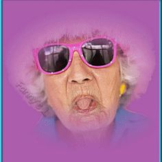 Old Women shows tongue - Funny Pictures, Funny Photos, Babies . Funny Emoticons, Funny Emoji, Gifs, Love Smiley, Diamond Face Shape, Betty Boop, Funny Birthday Cards, Old Women, Funny Photos