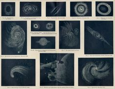 """Nebula Wall Art - Outer Space Print - Astronomy Decor - Antique Engraving C.1894 - Matted 12x16"""" by AntiquePrintBoutique on Etsy"""