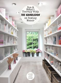 Feel the need for Spa & Retail Therapy? @TheHambledon at @Cowley_Manor | @HomeArtyHome   http://homeartyhome.com/the-hambledon-at-cowley-manor-with-green-and-spring/