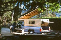 Truck tent, small truck camper, truck camper shells, pop up truck campers, Small Truck Camper, Truck Camper Shells, Pop Up Truck Campers, Car Camper, Small Trucks, Small Campers, Popup Camper, Happy Campers, Camper Beds