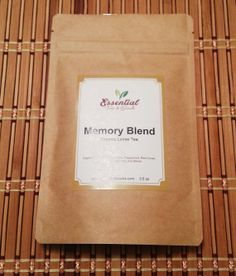 3.5 oz Organic Memory Loose Tea Blend by EssentialSnacks on Etsy, $10.00