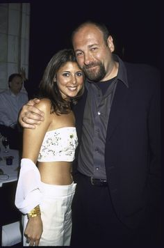 """Jamie-Lynn Sigler Says Her 'The Sopranos' Costar James Gandolfini was """"Protective"""" of Her After Revealing Multiple Sclerosis Diagnosis Meadow Soprano, Christopher Moltisanti, The Lovely Bones, Nurse Jackie, Young John, Tony Soprano, Jamie Lynn, E Street Band, Tv Actors"""