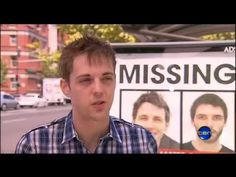 10 January 2013: Ten News, spurred by the nationwide Adshel campaign, show clips from the Dan Come Home documentary (in production) after meeting with director, Luke Kane, in Adelaide.