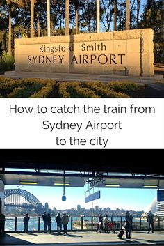 how to catch a train from sydney airport