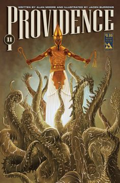 Providence issue 11 - limited edition weird pulp cover. Alan Moore, Jacen Burrows (Avatar Press)