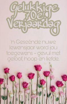 Funny Happy Birthday Meme, Happy Birthday Images, Happy Birthday Wishes, Special Birthday, 70th Birthday, Birthday Cards, Afrikaans, Baby Knitting, Birthdays