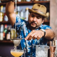 #photooftheday @milagro_on_12  Our co-owner is back at it! Stop by and say hello to Cesar @bartendersquad this weekend and let him show you all about hospitality. Not many match his passion customer service and a willingness to help others succeed and for this we are grateful to work along side him @milagro_on_12  #workharder #industrylife #milagroon12 #igersstaugustine #stauglocals #latinfusion #cocktails #craftcocktails #staugustinebuzz #staugustine #mixology #summer #travel