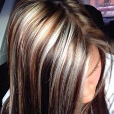Beautiful Brown Hair With Blonde Highlights .Beautiful Brown Hair With Blonde Highlights.Beautiful Brown Hair With Blonde Highlights. Hair Color And Cut, Haircut And Color, Brown Hair Colors, Love Hair, Great Hair, Dark Hair With Lowlights, Hair Highlights And Lowlights, Corte Y Color, Hairstyles Haircuts
