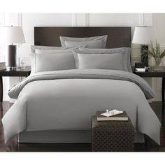 Bamboo Duvet Set Bedding Set by Kassatex Gray - KAX285-26, Durable