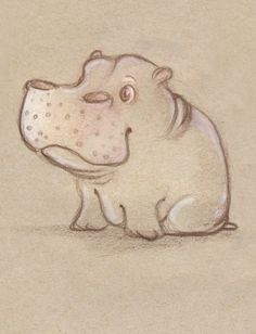 Hippo tattoo idea