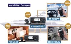 The Multi-station Capability of the IC-M605EURO Marine Radio