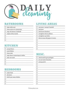 House cleaning schedule template unique printable cleaning checklists for daily weekly and kitchen cleaning checklist how to deep clean your kitchen! Daily Cleaning Checklist, Cleaning Schedule Templates, Weekly Cleaning, Checklist Template, Deep Cleaning Tips, Household Cleaning Tips, House Cleaning Tips, Cleaning Schedules, Speed Cleaning