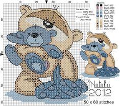 Baby Cross Stitch Patterns, Cross Stitch For Kids, Cross Stitch Cards, Cross Stitch Baby, Cross Stitch Animals, Cross Stitch Kits, Cross Stitch Designs, Cross Stitching, Cross Stitch Embroidery