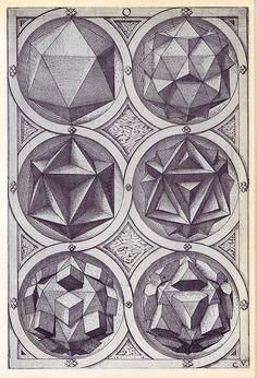 Aqua - Perspectiva Corporum Regularium - Wenzel Jamnitzer 1568 | Flickr – Condivisione di foto!