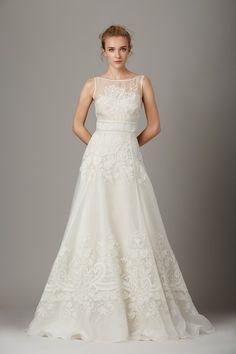 Big, bold and floral wedding dresses at New York Bridal Week - Lela Rose