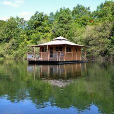 Hébergements insolites : cabanes et compagnie en Mayenne